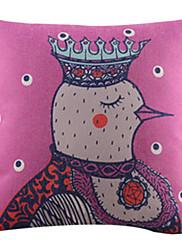 MRS雄鶏のコットン/リネン装飾枕カバー