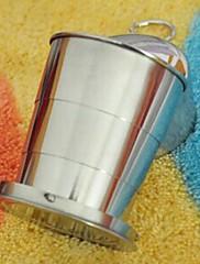魔法の歯のカップを折り畳むことができる、持ち運びにも便利(ランダムカラー)