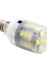 E14は3ワット27x5050smd 270lm 6000  -  6500Kの白色光は、トウモロコシの電球を導いた(220-240V)