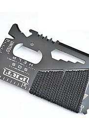 14-in-1 Credit Card Wallet Self Defense Outdoor Multi-function Tools