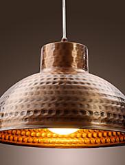 Antique Brass Dokončeno Bowl kovové závěsné