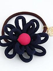 módní sweet slunečnice kovové vlasové vazby (random barva)