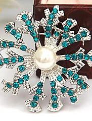 krásné slitiny a imitace perel brože (více barev)