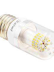 daiwl E27 4 w 50xsmd 3014 280lm 2500-3500k teplé bílé světlo LED žárovky kukuřice stříbro-drát (ac 110-240V)