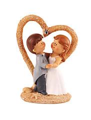primeros de la torta elegante novia bailando& el novio de la torta