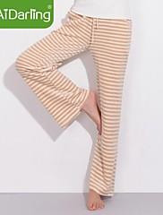 女性のオーガニックコットンベルベット家庭用パンツパジャマのズボンをaidarling
