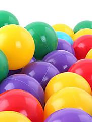 水プールのおもちゃを再生する50 PCカラフルなプラスチックの海のボール(ランダムカラー)