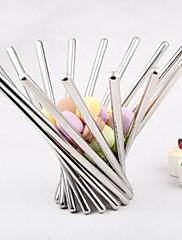happylife nerezové oceli ovocný talíř módní kreativita v západním stylu revolvingový košík s ovocem