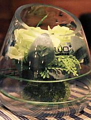moderní svatební růže umělé kytice multicolor, plast