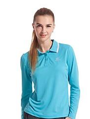 venku ženských polyester nebe modré růžové a fuchsie barvy rychleschnoucí t-shirt