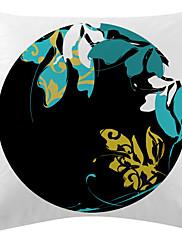 cvjetni crna ploča baršun dekorativne jastučnicu