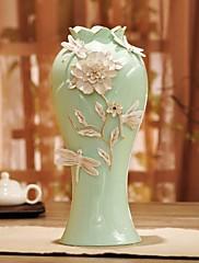 """h13.4 """"vyřezal porcelánová váza dekorace"""