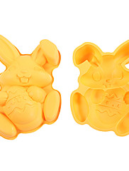 velikonoční králík s tvarem vejce koláč pekáče, zapékací misky, silikonu, l 29,7cm xw 21cm xh 5cm