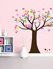 krásná colorfull strom pro domácí výzdobu Lepicí obraz na stěnu zooyoo5084 dekorativní odstranitelné PVC stěna nálepka