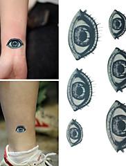 živé smutek oči tetování samolepky dočasné tetování (1 ks)