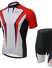 Biciklistička majica s kratkim hlačama Žene Kratki rukav Bicikl Prozračnost / Podesan za nošenje / Pad 3D / Povratak džepKratke hlače /
