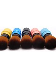1 Štětec na tvářenku / Štětec na pudr Syntetické chlupyAntibakteriální / Hypoalergenní / Přenosný / Profesyonel / Cestování / syntetický