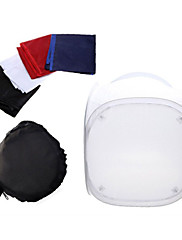 Mini Photo Studio Soft Box Shooting Tent Softbox Cube Box ,60 x 60cm Photo Light Tent+Portable Bag+4 Backdrops