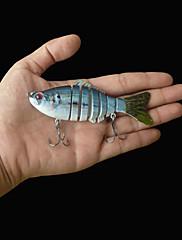 """1 個 ハードベイト / ルアー ハードベイト ブルー 15.2 グラム/3/8 オンス,100 mm/4"""" インチ,硬質プラスチック 海釣り"""