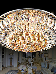 Flush Mount - Crystal / LED - Traditional/Classic - Crystal
