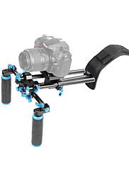 YELANGU® DSLR Shoulder Mount Support Rig with Camera/Camcorder Mount Slider, Shoulder Lift Set.
