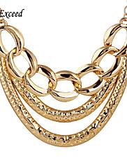 Náhrdelníky Klasické Náhrdelníky Šperky Párty / Denní / Ležérní Slitina / Postříbřené / Pozlacené Zlatá / Stříbrná 1ks Dárek