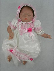 npkdoll生まれ変わった赤ちゃん人形柔らかいシリコーン22inchの55センチメートル磁気口本物そっくりのかわいい素敵なおもちゃの眠っている赤ちゃん白