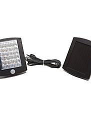 36は活性化された光センサーモーション付きのガーデンパス照明用ソーラーランプを主導