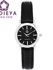 Dámské Módní hodinky Křemenný Japonské Quartz Voděodolné Kůže Kapela Černá Značka KEDIEYA