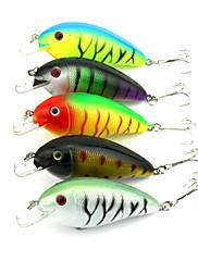 """10 個 ルアー クランク ランダム色 グラム/オンス,85 mm/3-5/16"""" インチ,硬質プラスチック 海釣り 川釣り バス釣り 一般的な釣り"""