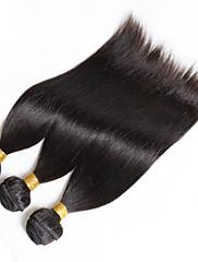 Lidské vlasy Vazby Peruánské vlasy Proste 3 kusy Vazby na vlasy
