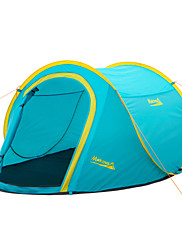Makino 2 persons Tent Double One Room Camping Tent 2000-3000 mm Fiberglass PolyesterWaterproof Breathability Rain-Proof Dust Proof
