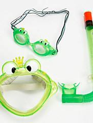 Šnorchlovací sady Brýle na plavání Sada na šnorchlování Potápění a šnorchlování. Plavání Silikon-WAVE