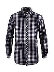 JamesEarl 男性 シャツカラー ロング シャツ&ブラウス グレー - MB1XC000635
