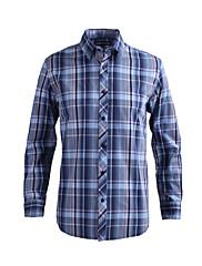 JamesEarl 男性 シャツカラー ロング シャツ&ブラウス ライトグリーン - DA202028993