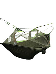 SWIFT Outdoor® 250x80cm Portable Army Green High Strength Parachute NylonCamping Mosquito Hammock Bliss Sky Tent