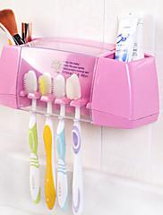 kreativní silný multifunkční nalepit držák na zubní kartáček zubní pasta
