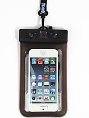 Suché Boxy / Suché pytle Unisex Mobilní telefon / Voděodolný / Dotyková obrazovka Potápění a šnorchlování. Černá PVC