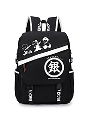 Bag Inspirirana Gintama Gintoki Sakata Anime Cosplay Pribor Bag / ruksak Crna Canvas Male / Female