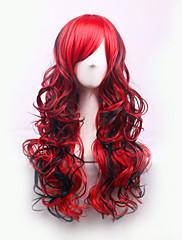 najprodavaniji Europi i SAD-u periku i crvene mješovite djelomične kovrčava kosa perika