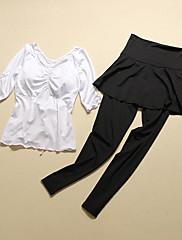 Yoga Kompleti odjeće/odijela Prozračnost / Quick dry / Kompresija Rastezljiva Sportska odjeća Žene-Sportske,Yoga / Sposobnost / Slobodno