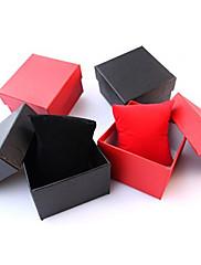 ジュエリーボックス ペーパー 1個 ブラック / レッド