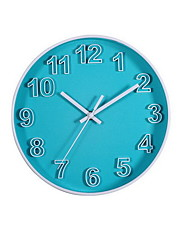 Módní a moderní Ostatní Nástěnné hodiny,Kulatý Akryl 25.4*25.4cm Vevnitř Hodiny