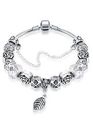 Dámské Kotníkové náramky Náramek Postříbřené Had Stříbrná Šperky 1ks