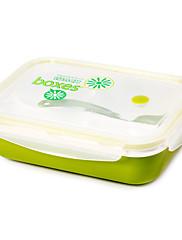 1 キッチン プラスチック ランチボックス