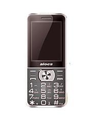 Aloe x5 mobiltelefon dual sim-kort bluetooth gsm telefon