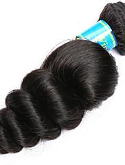 Человека ткет Волосы Индийские волосы Свободные волны 12 месяцев 1 шт. волосы ткет