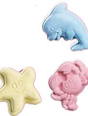噛むおもちゃ ゴム イエロー ブルー ピンク
