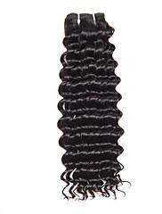 Lidské vlasy Vazby Brazilské vlasy Kudrny 12 měsíců Jeden díl Vazby na vlasy