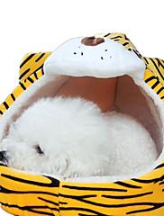 犬 ベッド ペット用 マット/パッド 動物 洗濯可 イエロー